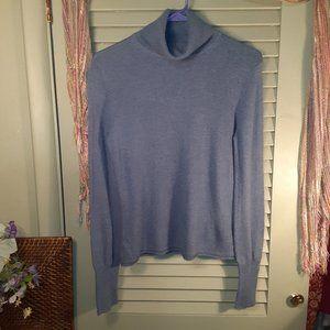 Evelyn Grace cashmere turtleneck sweater sz Medium